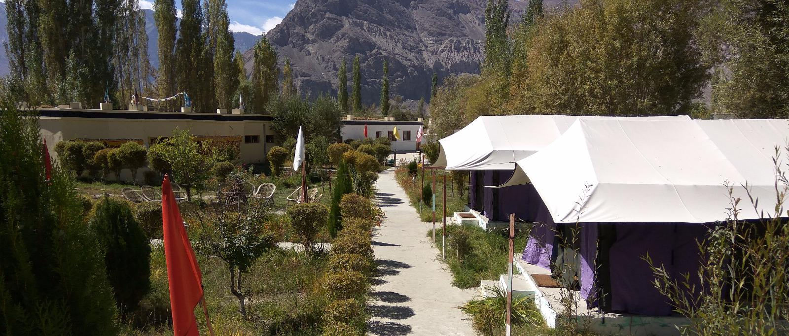 Luxery Camp in Leh, Camp In Ladakh, Valley Flower Camp Location